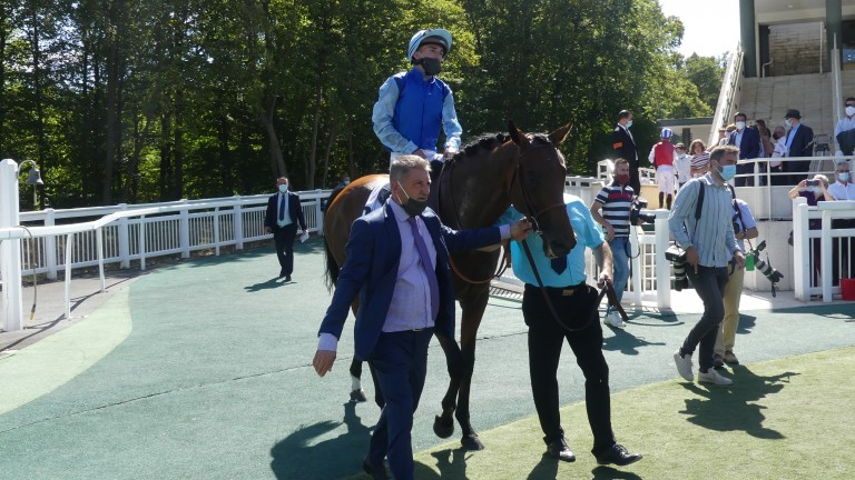 Persian King and Pierre-Charles Boudot return to the number one spot after winning the Prix d'Ispahan at Chantilly