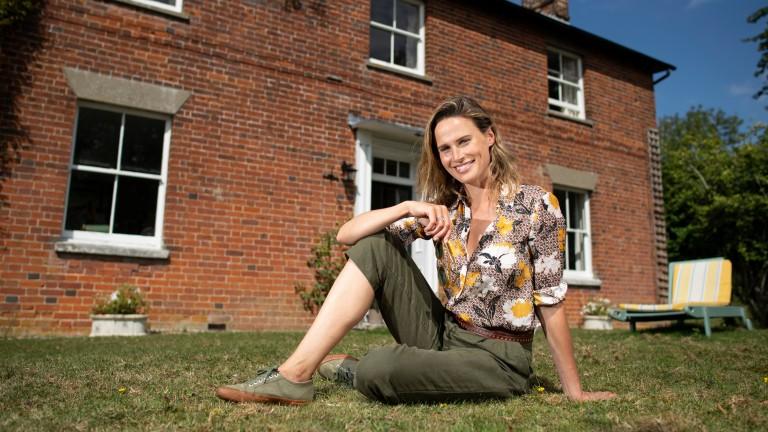 Francesca Cumani at her farmhouse near Newmarket