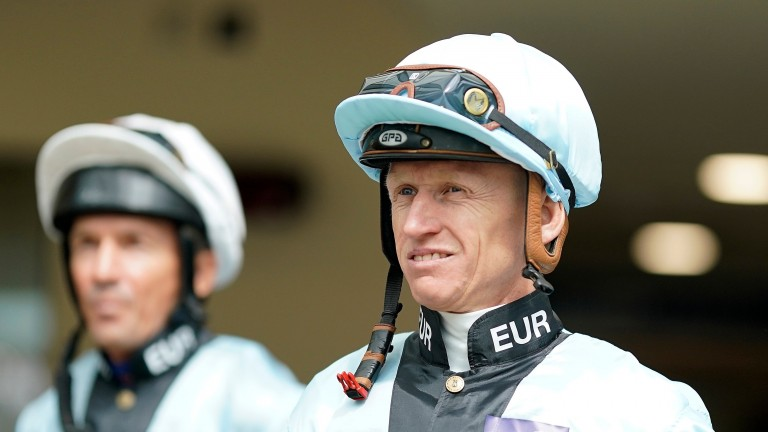 Filip Minarik: four-time champion jockey in Germany is now recovering at home