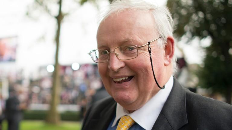 Tom Hogan: trainer of Nebo, who won in impressive fashion at Cork last time