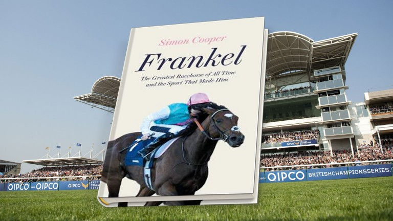 Frankel: a detailed account of the legendary racehorse was published this month