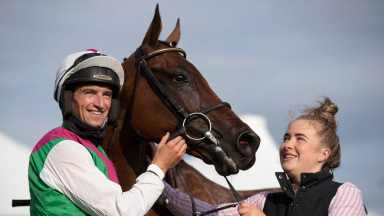 All smiles for Mullins team after Aramon strikes in Galway Hurdle