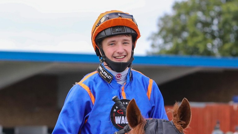 Danny Redmond is all smiles after winning at Ayr this week