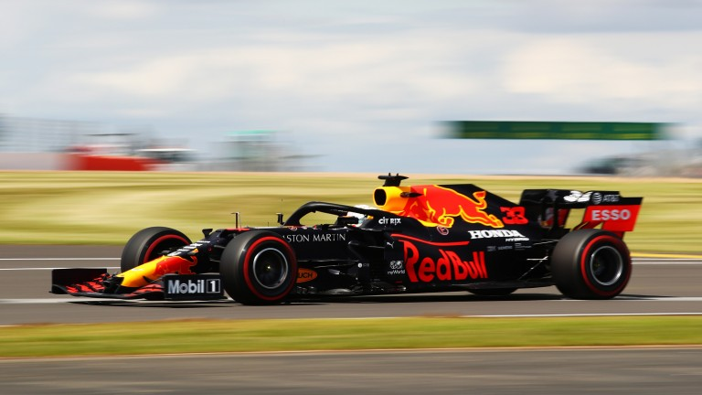 Max Verstappen lines up third at Silverstone