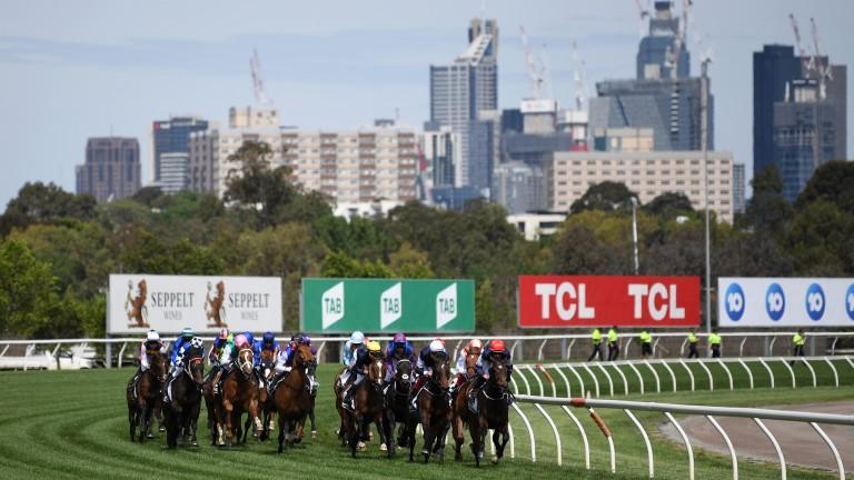 Flemington racecourse: home of the Melbourne Cup