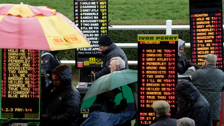 Fees will be waived at many racecourses for on-course bookmakers
