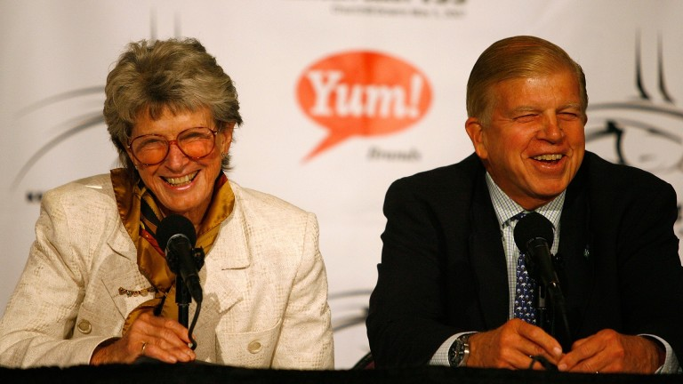 Gretchen and Roy Jackson, pictured in 2007, have been actively involved in racing since the late 1960s