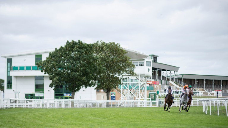 Yarmouth: racing was called off on Monday after a fatal fall in the third race of the day