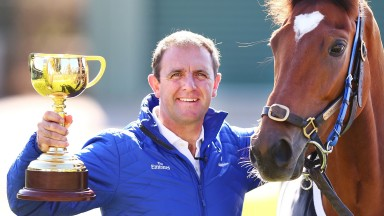 Charlie Appleby: trained Cross Counter to win the Melbourne Cup in 2018