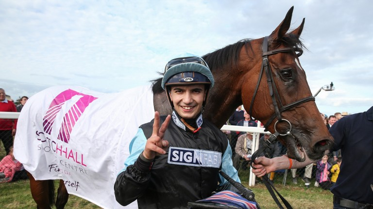 Gabriele Malune: injured after falling in the closing stages of the 1m2f handicap