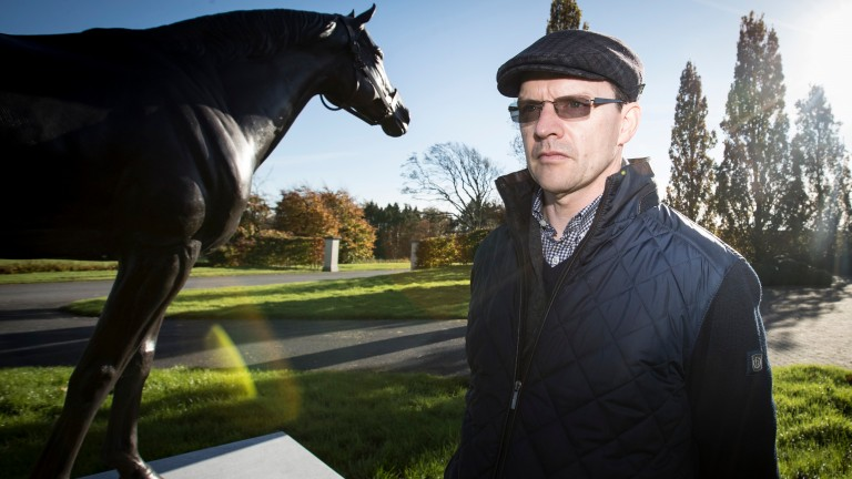"Aidan O'Brien: ""It was a one-in-a-lifetime chance to meet a man like him"""