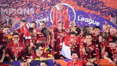 Liverpool finally got their hands on the trophy in July having looked surefire winners since the autumn