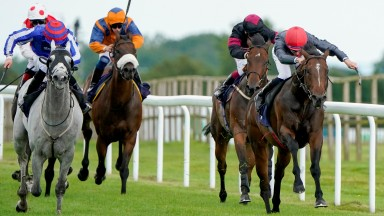 Rossa Ryan (red cap) steers Princely to victory