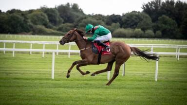 Tarnawa (Oisin Orr) wins the Group 3 Irish Stallion Farms EBF Give Thanks Stakes.Cork Racecourse.Photo: Patrick McCann/Racing Post 08.08.2020