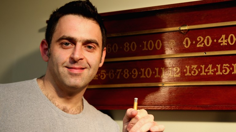 Ronnie O'Sullivan is one of a kind