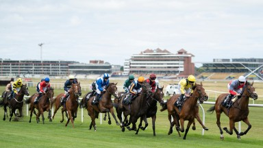 Newbury: stages a nine-race card on Saturday