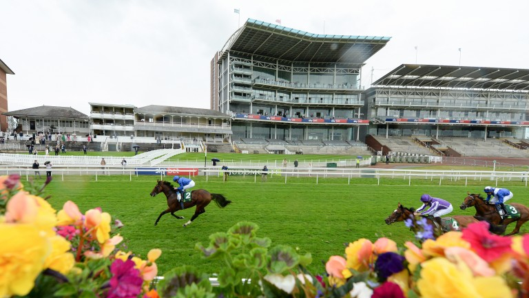 Ghaiyyath is clear in the final throes of the Juddmonte International