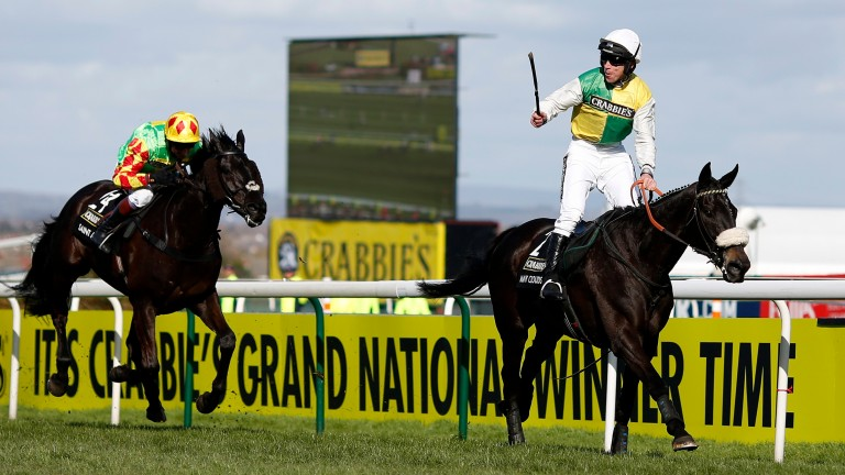 Many Clouds carried a huge 11st 9lb to victory in 2015