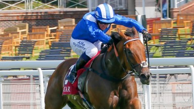 Battaash - Jim Crowley wins from the fieldThe King George Qatar Stakes (Group 2) (Class 1)Goodwood 31.7.20Racing behind closed doors due to the Covid-19 pandemic. ©mark cranhamphoto.com