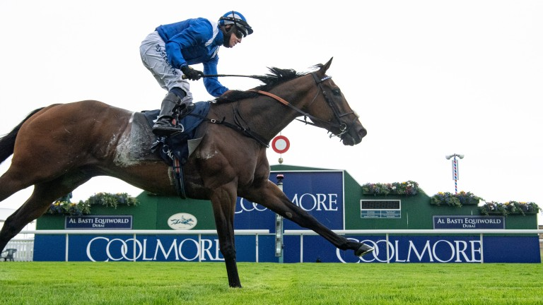 Battaash (Jim Crowley)win the Coolmore Nunthorpe StakesYork 21.8.20 Pic: Edward Whitaker/Racing Post