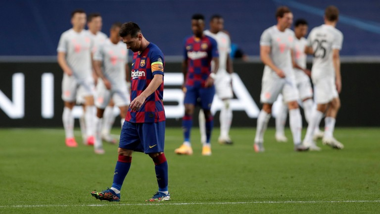 Lionel Messi reflects on Barcelona's 8-2 defeat to Bayern Munich