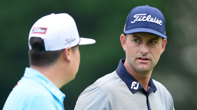Webb Simpson has earned a place in the final threeball