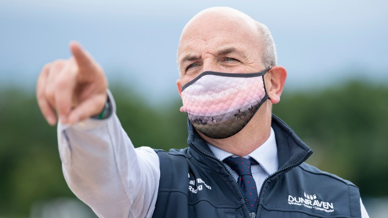 Fergal O'Brien: trainer of the progressive Courtandbould