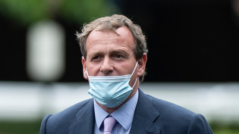 Richard Hannon: trainer has claims with Armor