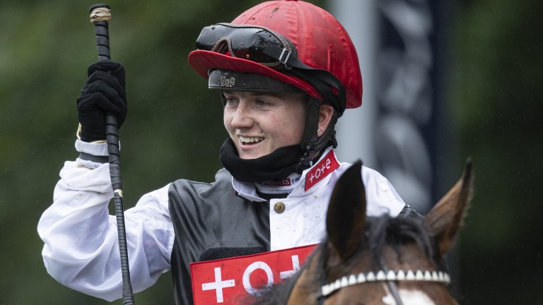 Hollie Doyle: record-breaking rider could be smiling even more on Sunday evening