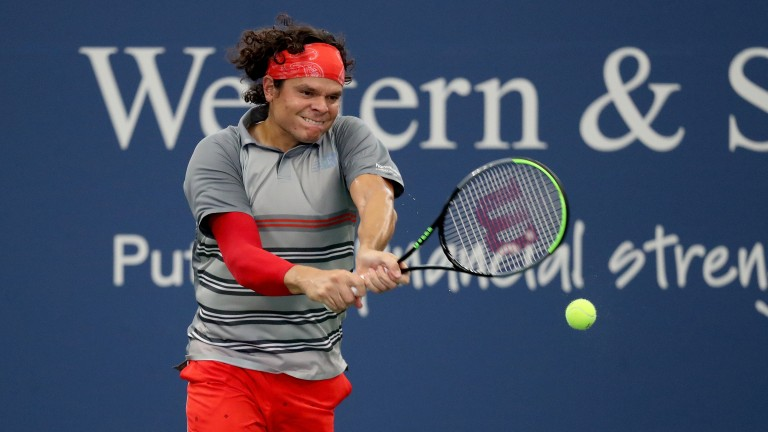 Milos Raonic should have the weapons to account for Dusan Lajovic