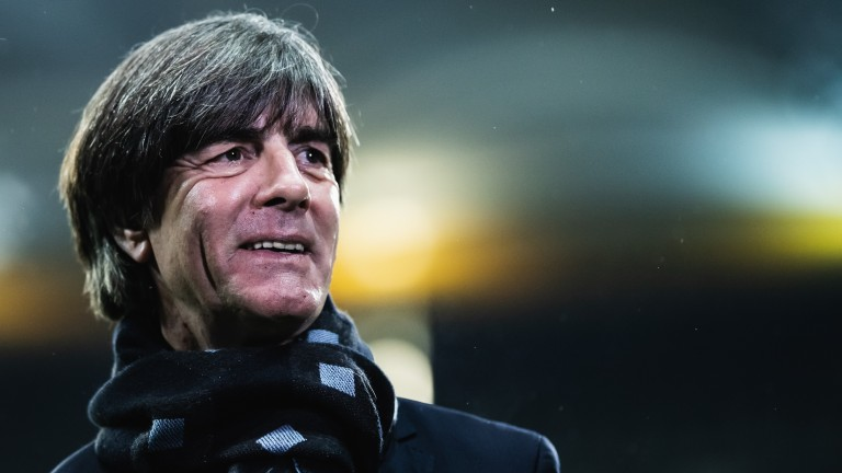Joachim Low's Germany face France on Tuesday