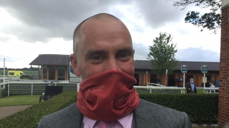 Adrian Nicholls: bids for a first Royal Ascot winner with Adrian Nicholls