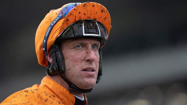 Robbie Power: rode a double for Tom Lacey on L'Incorrigible and Vado Forte