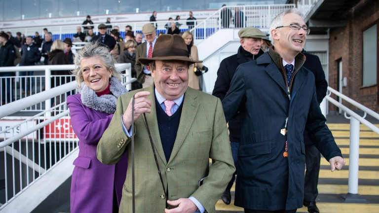 Nicky Henderson and Anthony Bromley combined at £60,000 for the sale-topping Blue Bresil colt