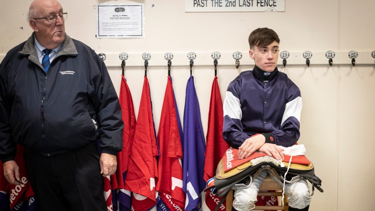 Shane Crosse: only the riders who were sitting closest to the former champion apprentice in the racecourse changing areas have been tested