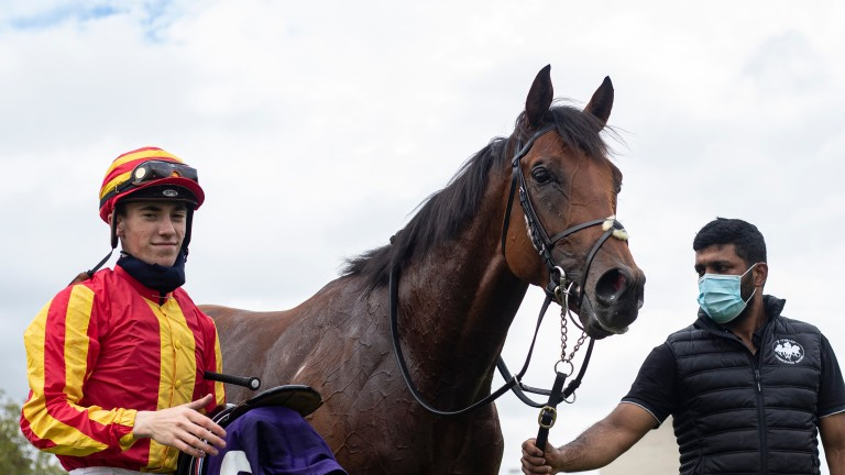Galileo Chrome: leading Pertemps St Leger contender will now be ridden by Tom Marquand