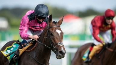 Spanish Mission (William Buick) winners of the bet365 Doncaster CupDoncaster 11.9.20 Pic: Edward Whitaker/Racing Post