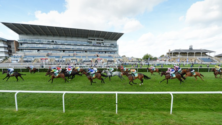 Doncaster: last three days of the St Leger meeting took place behind closed doors