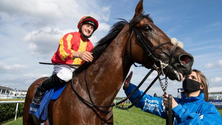 Galileo Chrome: winner of last year's St Leger under Tom Marquand