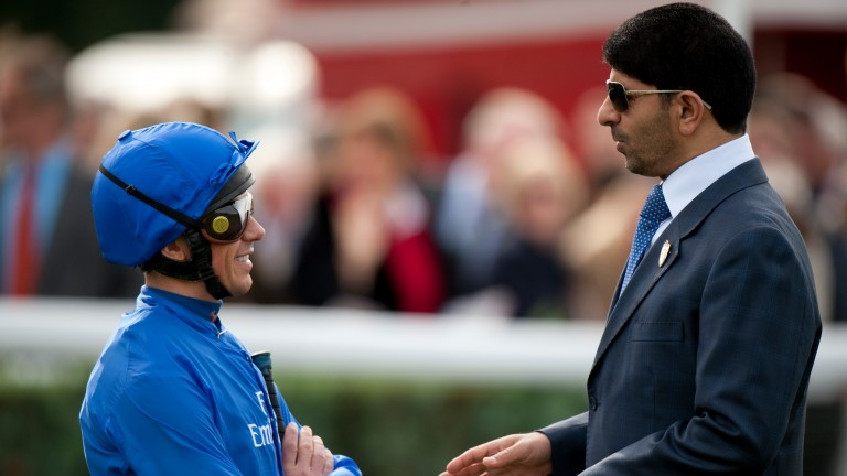Frankie Dettori teamed up with Saeed bin Suroor for a Listed success on Friday