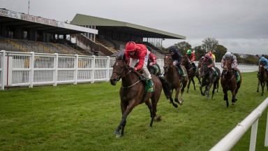 Lady Wannabe lands the Listed Edmund & Josie Whelan Memorial Listowel Stakes under Chris Hayes