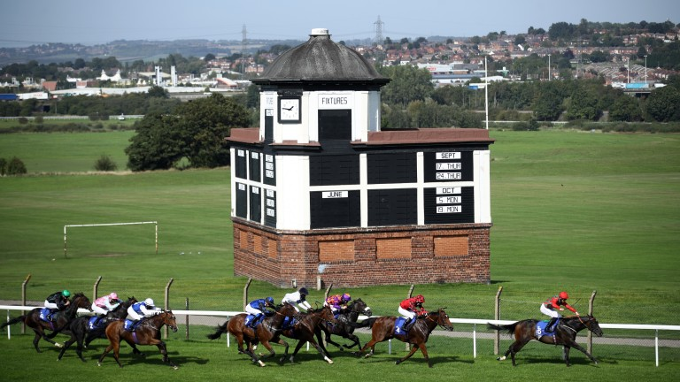 Pontefract: hosts the Listed Silver Tankard Stakes on Monday