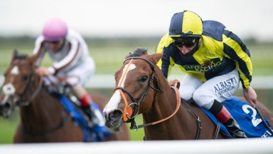 Isabella Giles: the Goffs Sportsman's Sale graduate was notching up her second Group success in the Rockfel Stakes