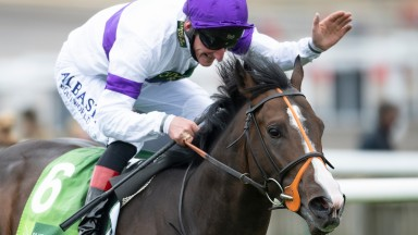 Supremacy (Adam Kirby) win the Juddmonte Middle Park StakesNewmarket 26.9.20 Pic: Edward Whitaker/Racing Post