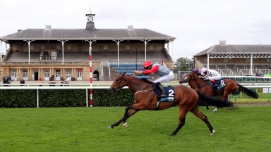 Spright seen making all to win a nursery at Doncaster in September
