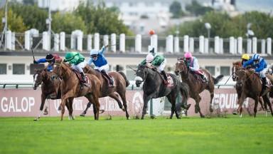 Sottsass (C.Demuro) wins the ArcLongchamp 4.10.20 Pic: Edward Whitaker