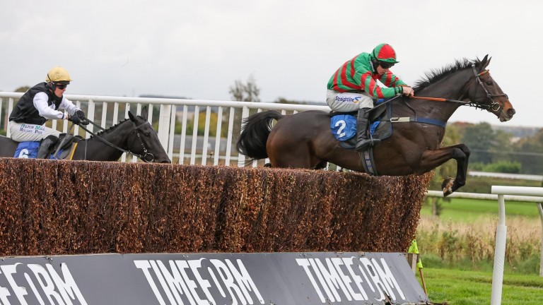 Nuts Well proved his fitness by winning at Kelso earlier this month