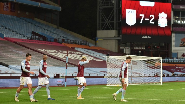 Aston Villa's big win over Liverpool sent out shockwaves but is likely to prove a one-off