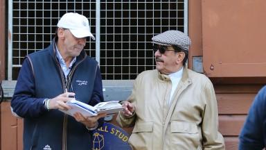 Shadwell's Angus Gold and Sheikh Hamdan at Book 1 in 2019