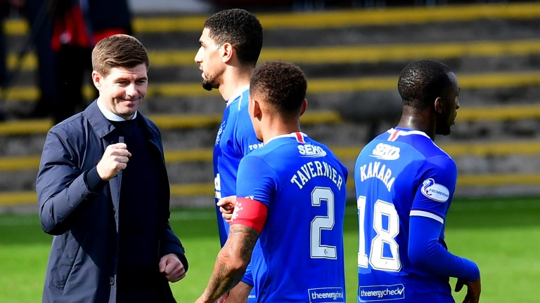Steven Gerrard can lead his Rangers side to victory in Sweden